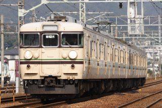 115系1000・600番台 C編成(福知山色) 山陽本線