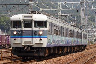 115系3000番台 N編成(広島快速色・大和ミュージアム) 山陽本線
