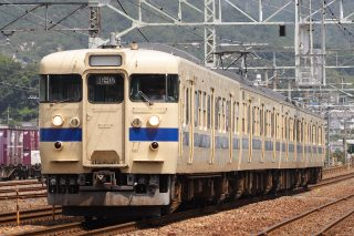 115系600・300番台+113系0番台 G編成(瀬戸内色) 山陽本線