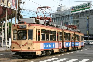 広島電鉄 3000形3005ACB