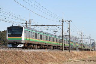 E233系3000番台 宇都宮線
