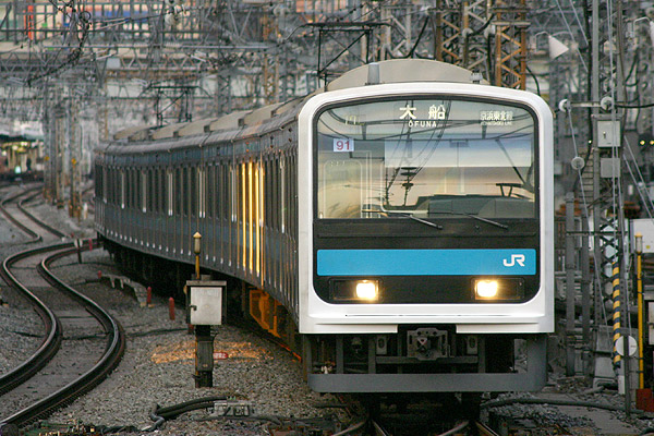 209系910番台 京浜東北線 2003-12-7 東京駅にて Can... 209系910番台