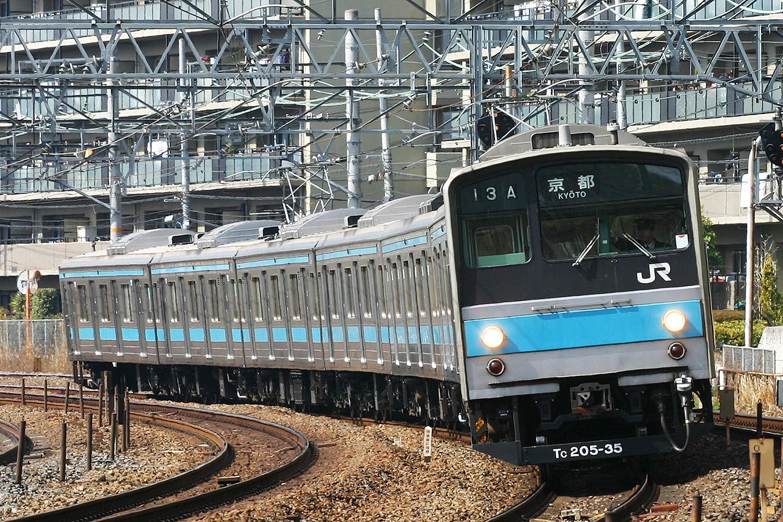 205系 JR京都線